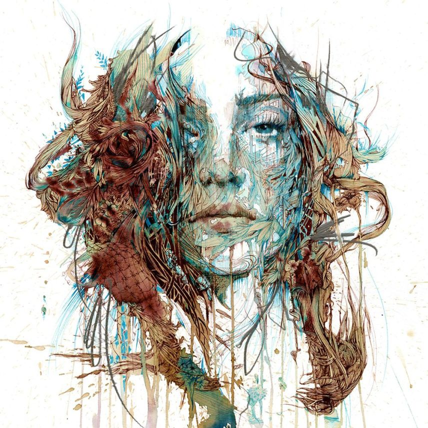 Range of Arts - Painting - Carne Griffiths - The Mystery