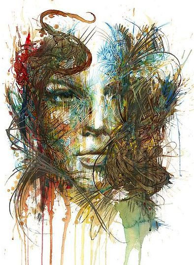 Range of Arts - Painting - Carne Griffiths - The Tempest