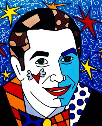 Range of Arts - Romero Britto - Original Portraits Paintings - Jeff Koons