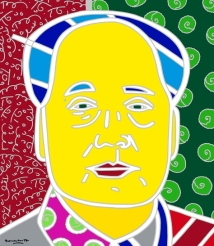Range of Arts - Romero Britto - Original Portraits Paintings - Mao