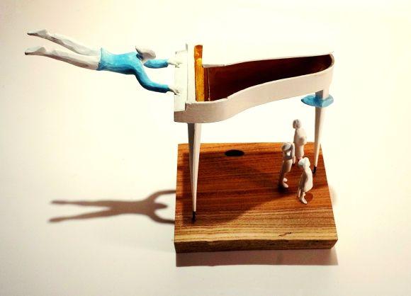 Range of Arts - Sculpture - Kazuhiko Tanaka - The Piano IV