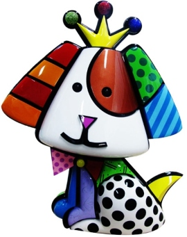 Range of Arts - Romero Britto - Sculpture - Royalty