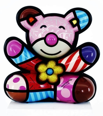 Range of Arts - Romero Britto - Sculpture - Spring Bear