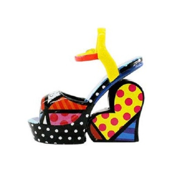 Range of Arts - Romero Britto - Sculpture - Mini Wedge