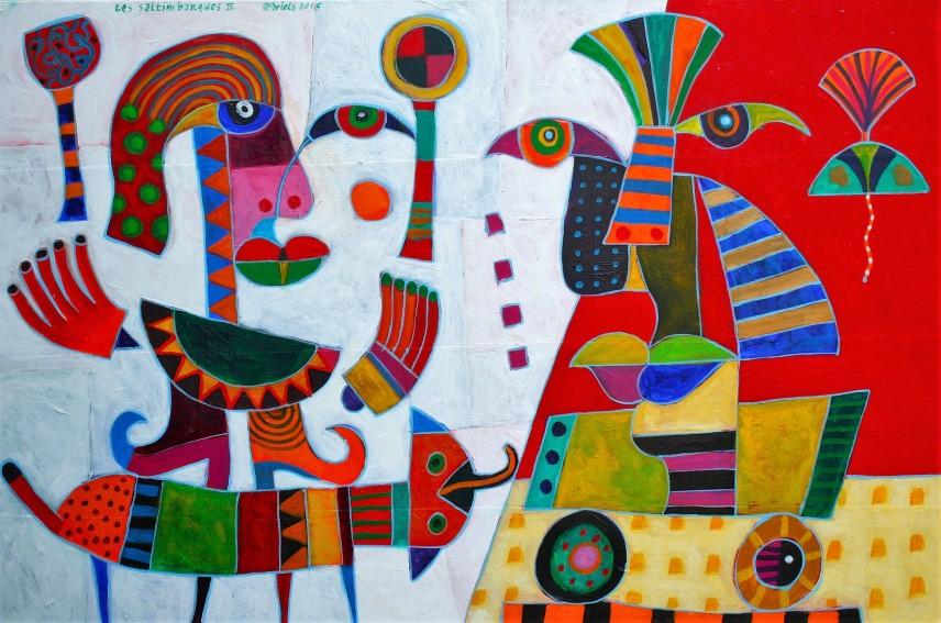 Range of Arts I Clemens Briels I Les Saltimbanques II