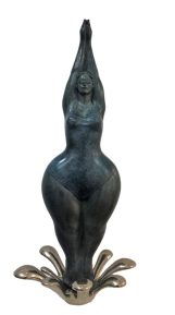 Lindsey De Ovies sculpture bronze resin prices artist