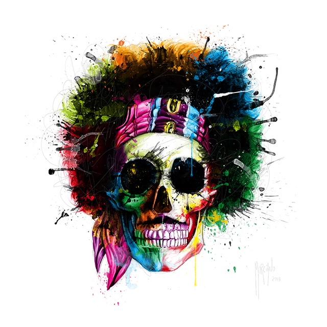 Range of Arts I Partice Murciano I Hendrix Skull