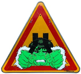 Range of Arts I Painting I Thierry Beaudenon I Hulk II