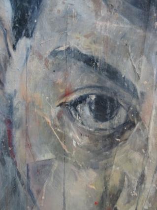 Range of Art I Nathan Chantob I Autoportrait Lacéré détail 4