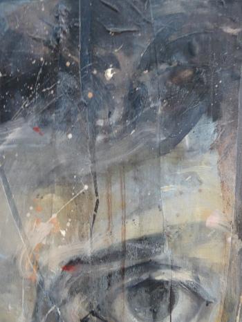 Range of Art I Nathan Chantob I Autoportrait Lacéré détail