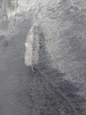 Range of Art I Painting INathan Chantob I L'age du gris detail