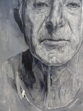 Range of Art I Painting I Nathan Chantob I L'age du gris detail