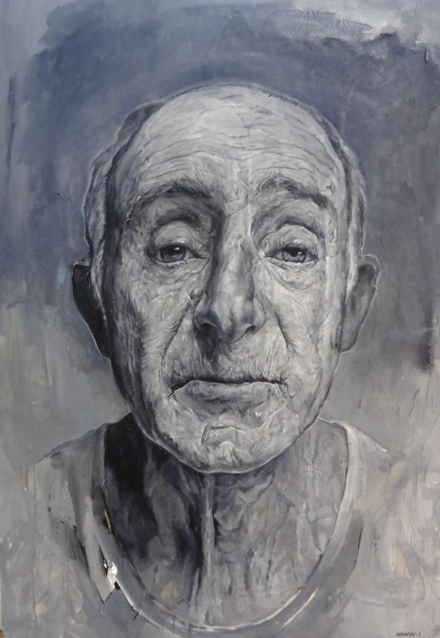 Range of Art I Painting I Nathan Chantob I L'age du gris