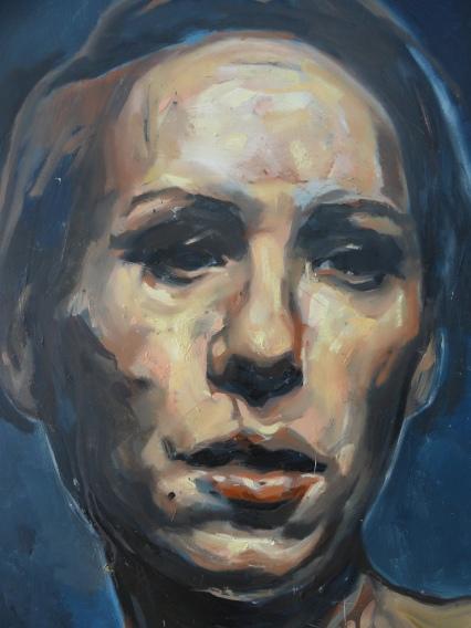 Range of Art I Painting I Nathan Chantob I L'Empire visage