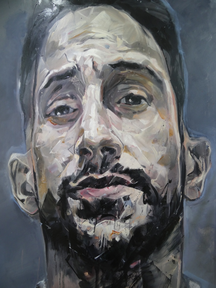 Range of Art I Painting I Nathan Chantob I Zoreol visage