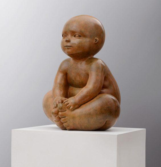 mariela garibay price sculptures esculturas babies bronze happiness honfleur artist art gallery