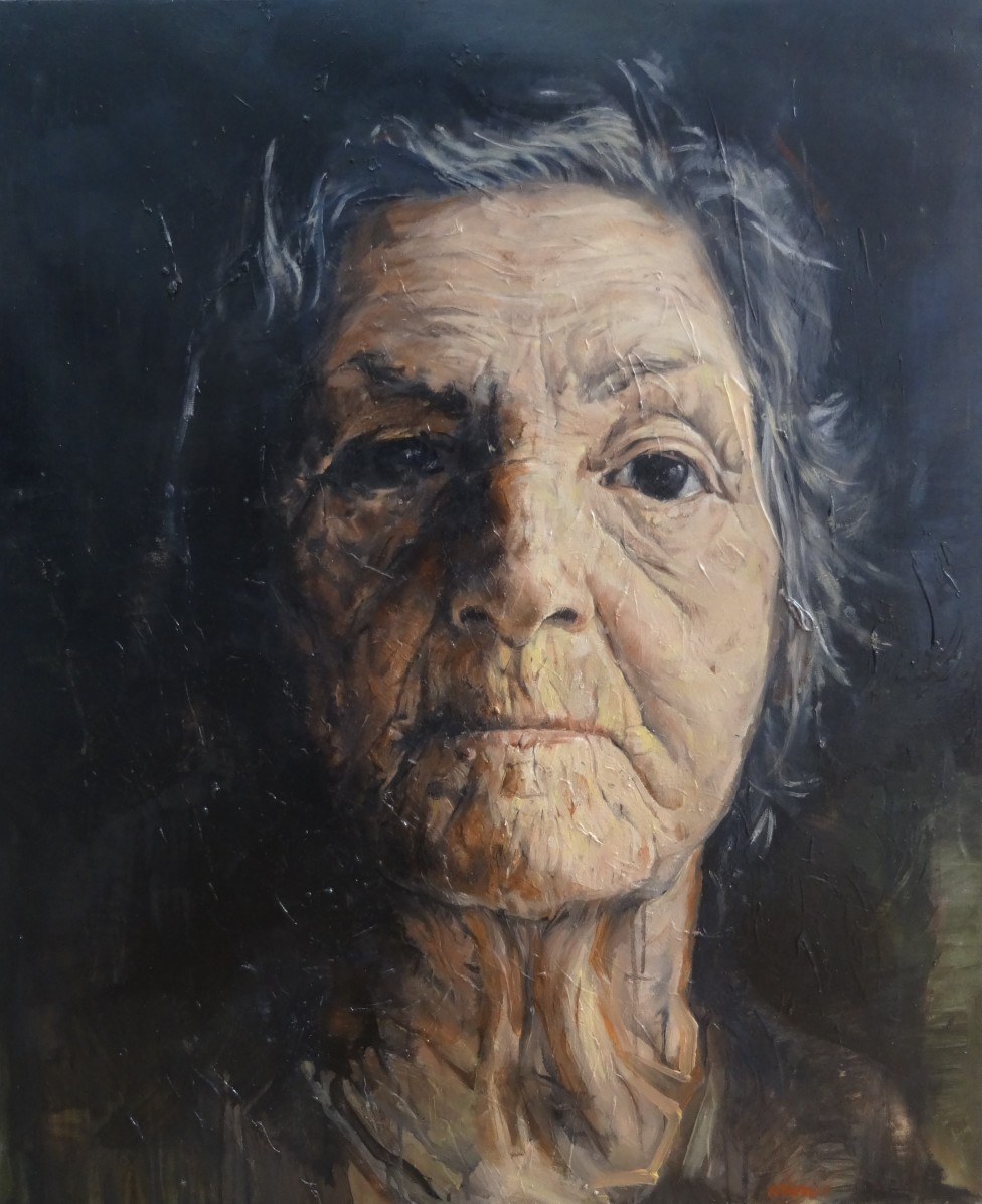 french painter nathan chantob exhibition women portrait for sale honfleur