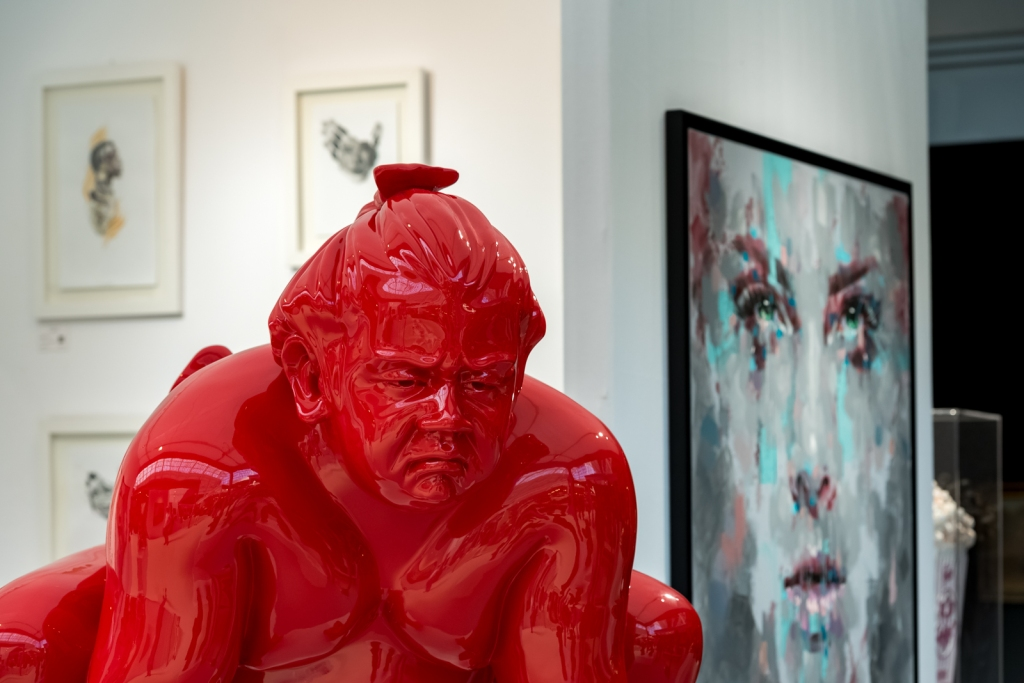 honfleur art gallery contemporary london show olympia